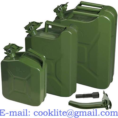 Military Jerry Can / Metal Oil Drum /  NATO Fuel Can ( 5/10/20L )