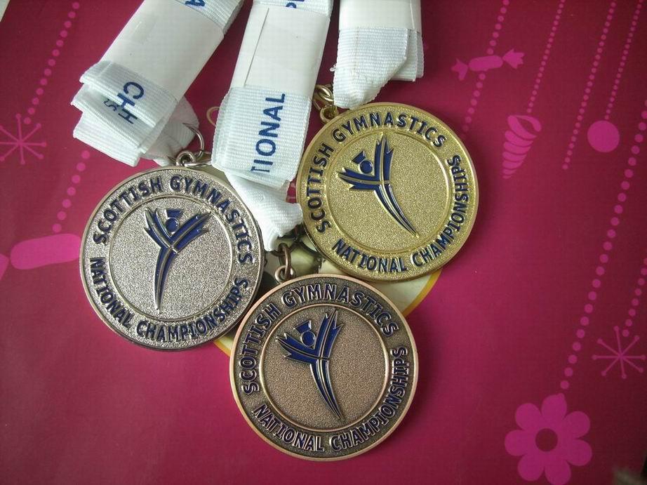 Factlory OEM sports zinc alloy medal