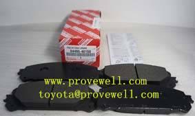 brake pads for Toyota RAV4 OEM: 04465-48150