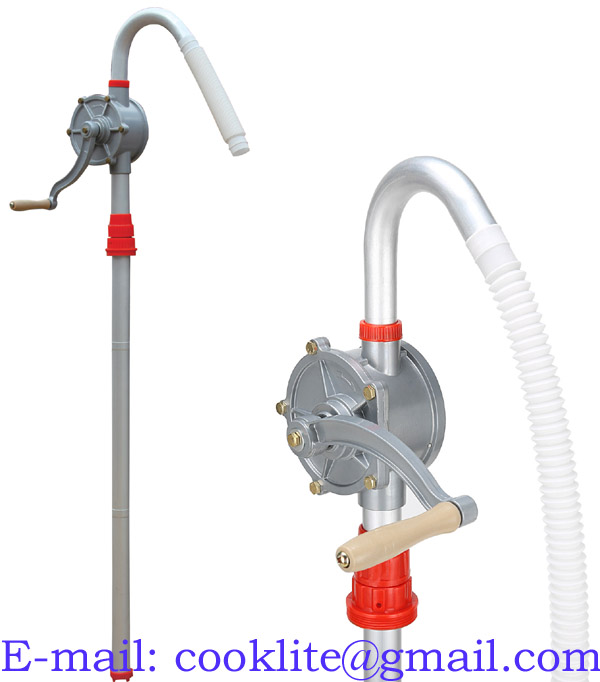 Aluminum Hand Rotary Oil Diesel Fuel Drum Barrel Pump