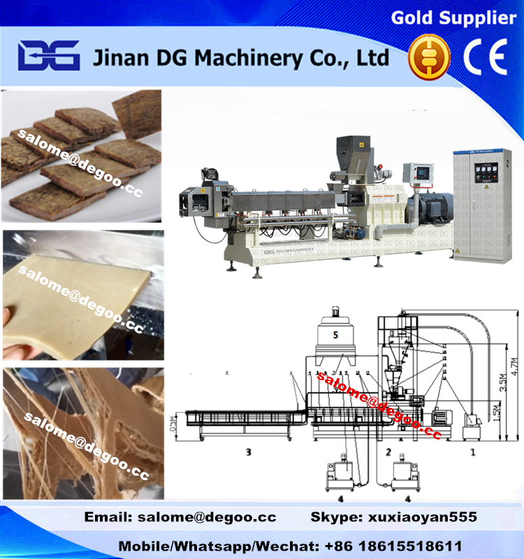 High moisture/wet soyabean protein making machine production line