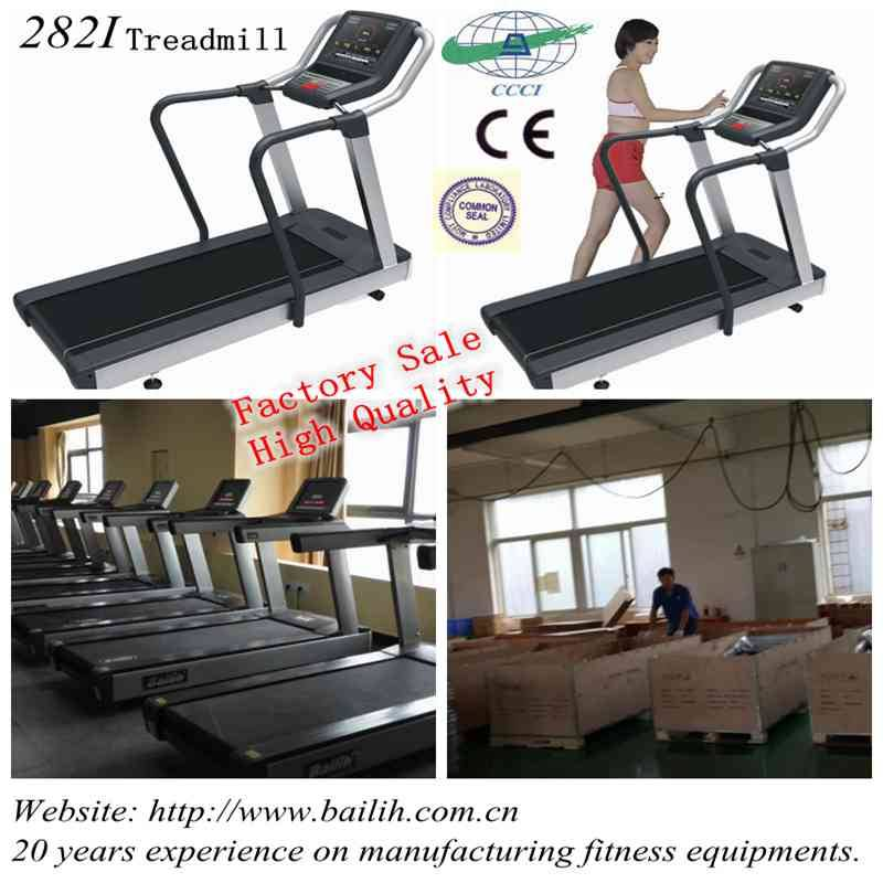 Bailih Cardio Model 282I Commercial Treadmill Gym Equipment with Factory Sale
