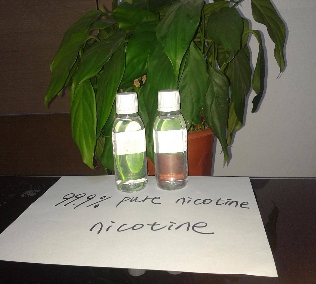 nicotine e-lliquid