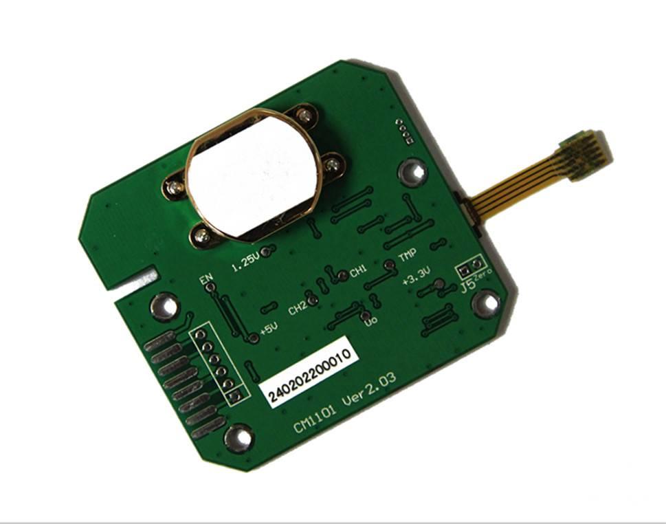 Infrared (NDIR) Carbon Dioxide (CO2) Gas Sensor Module CM1102 Series  (dual beam with T & RH )