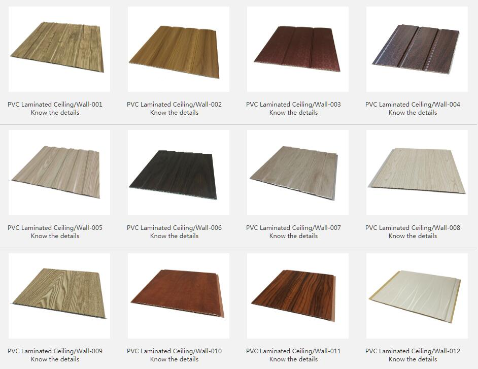 PVC Laminated Ceiling/Wall