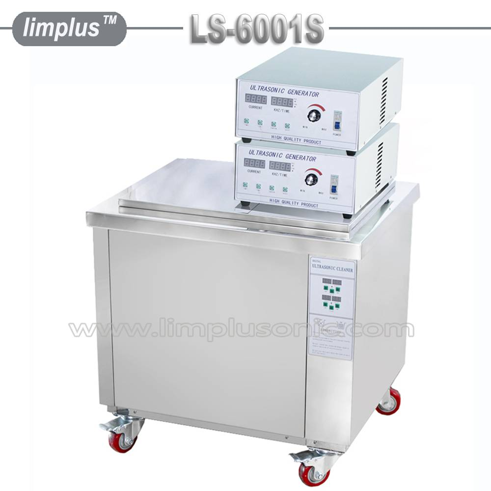 Limplus ultrasonic cleaner for car parts, carburators, valves, diesel injectors, altenators