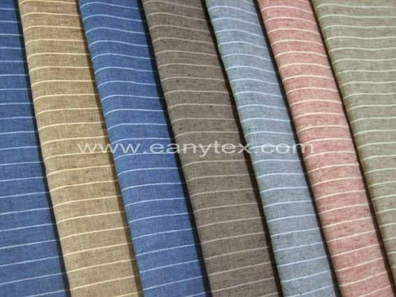 LINEN YARN DYED FABRIC