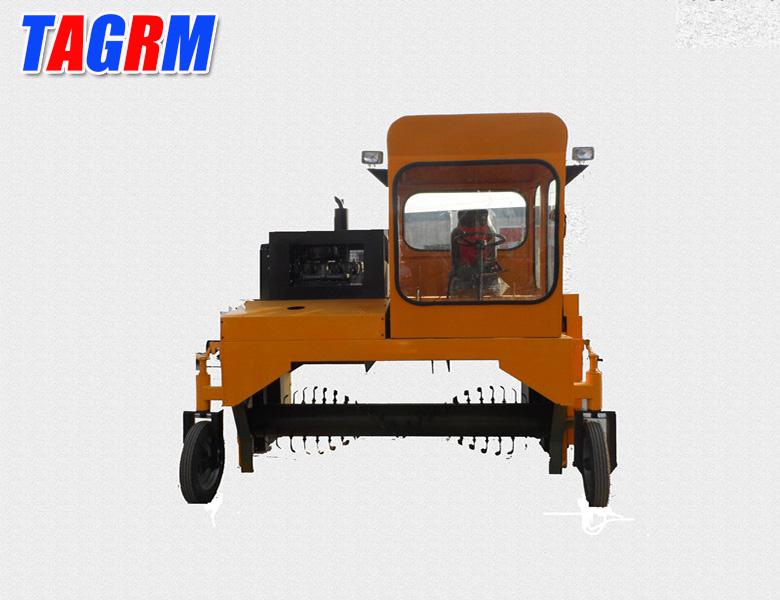 M2300 farming waste and organic compost mixer machine for fertilizer