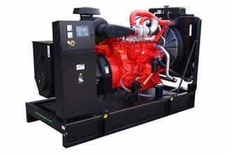 Scania Diesel Generator Set Construction Generating Machine Power Plant Fuel Generator Set