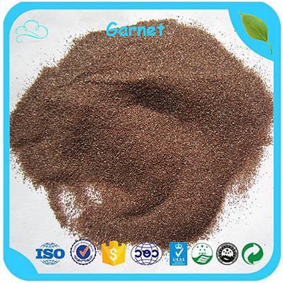 China Supplier Market Price Waterjet Cutting/ Sand Blasting Garnet 80 Mesh