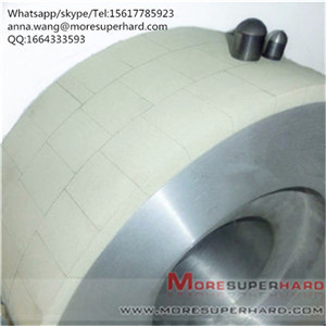 Vitrified Bond Diamond Wheel Flat-Shaped for Grinding PCD Tools