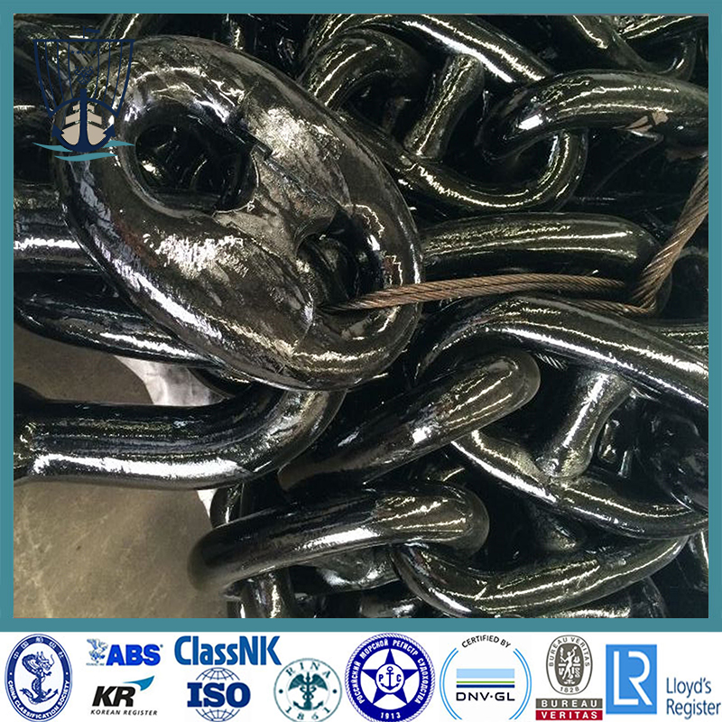 CCS Approved Welded Ship Stud Link Anchor Chain