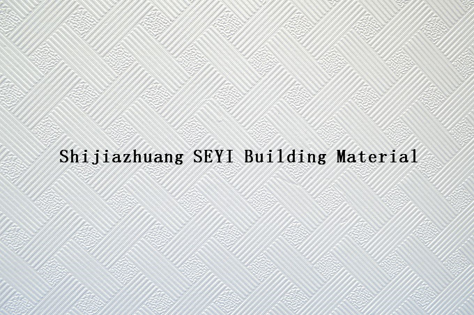 Acoustic Ceiling Tile Magnesium Oxide Board/ MGO Board