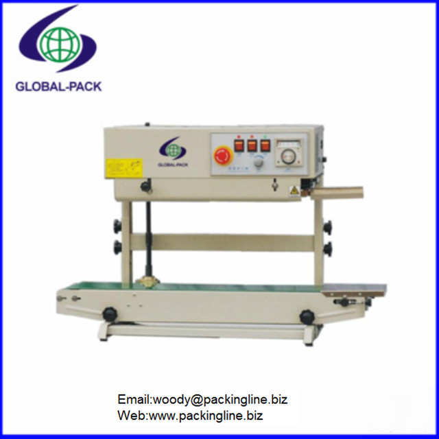 Vertical Continuous plastic pouch bags sealing machine FRB-770II