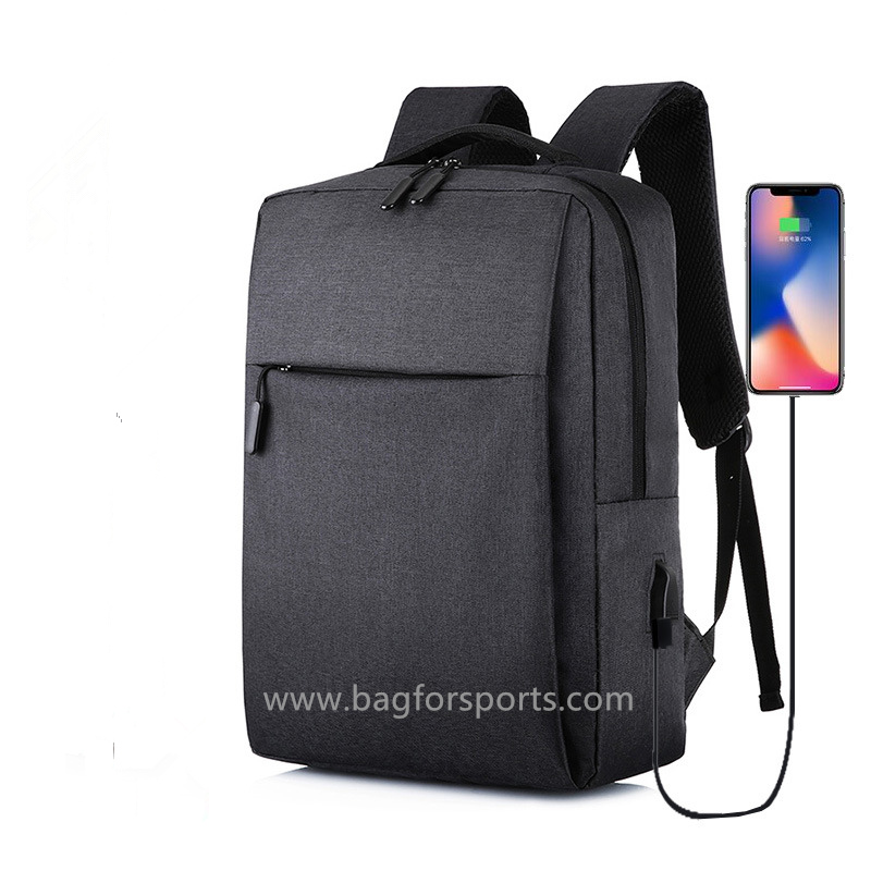 Travel Computer Backpack, Business Laptop Backpack with USB Charging Port,Water Resistant Computer B