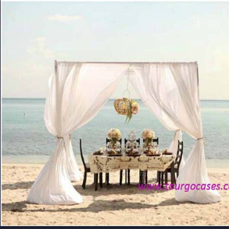 wedding Aluminum backdrop stand pipe drape, adjustable pipe and drape for decoration