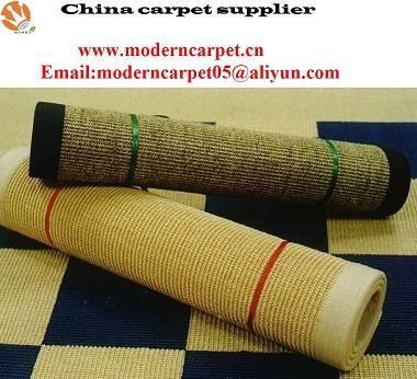 Natural sisal door mats