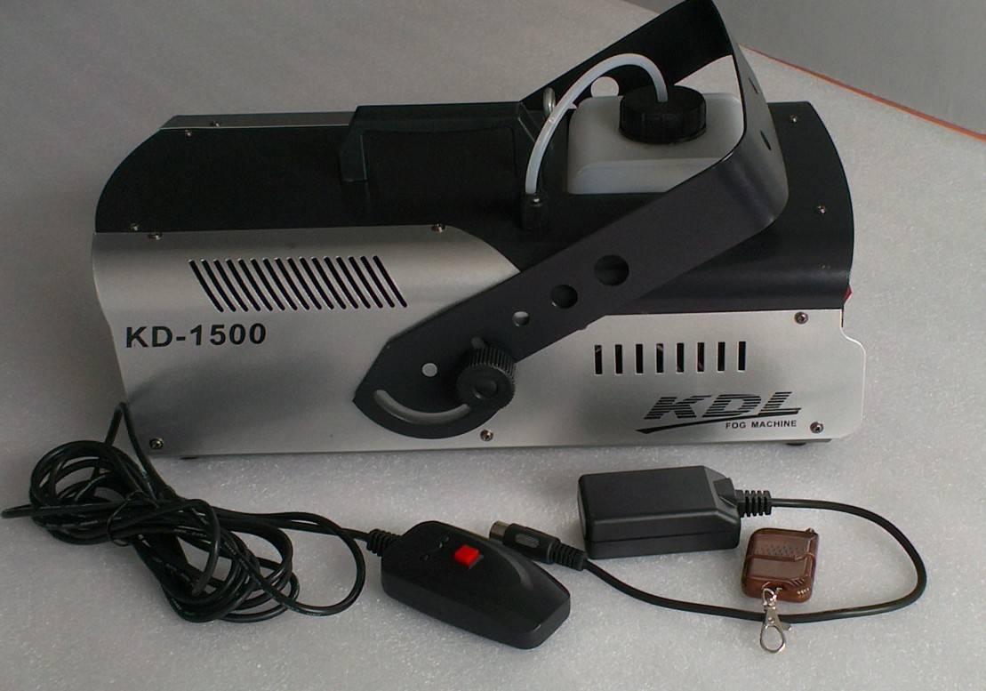 1500w electronic temperature control  fog machine