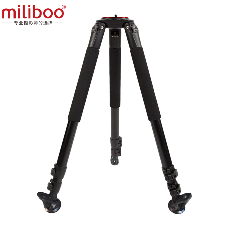 miliboo MTT703A Portable Tripod 1650mm Aluminum Professional Camera Tripod without Ball head Mon