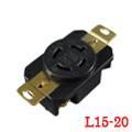 LK-2422F NEMA L15-20R Locking Receptacle