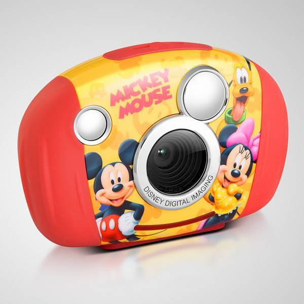 Kids Digital Cameras-1.8 Inch TFT-3.1 Mega Pixel-Smile Shot-Disney Mickey Mouse-Kliq Smart DDC130