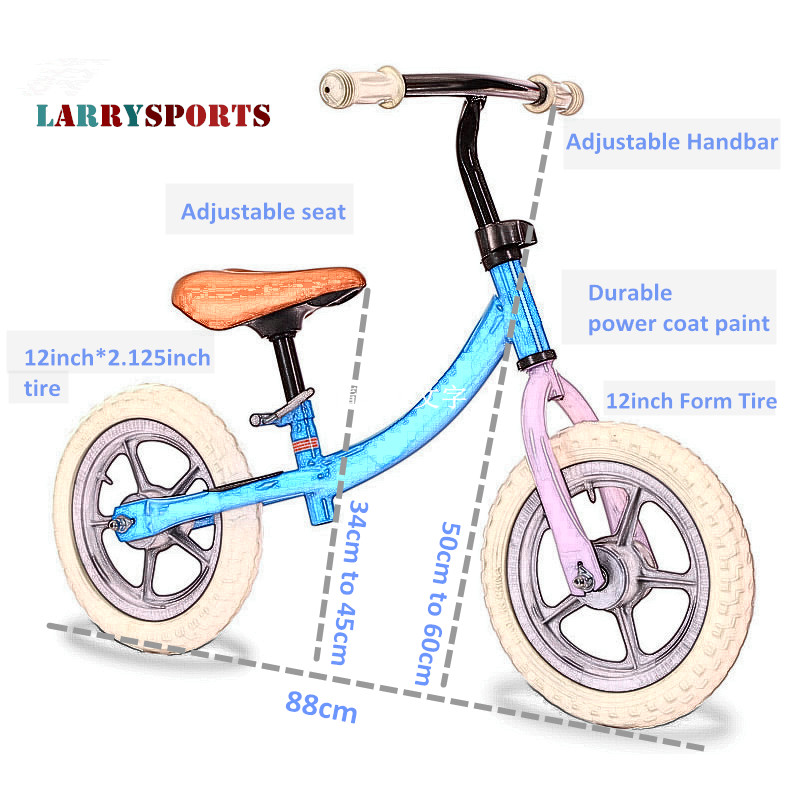 Toddler Sports Balance Bike with FormTire