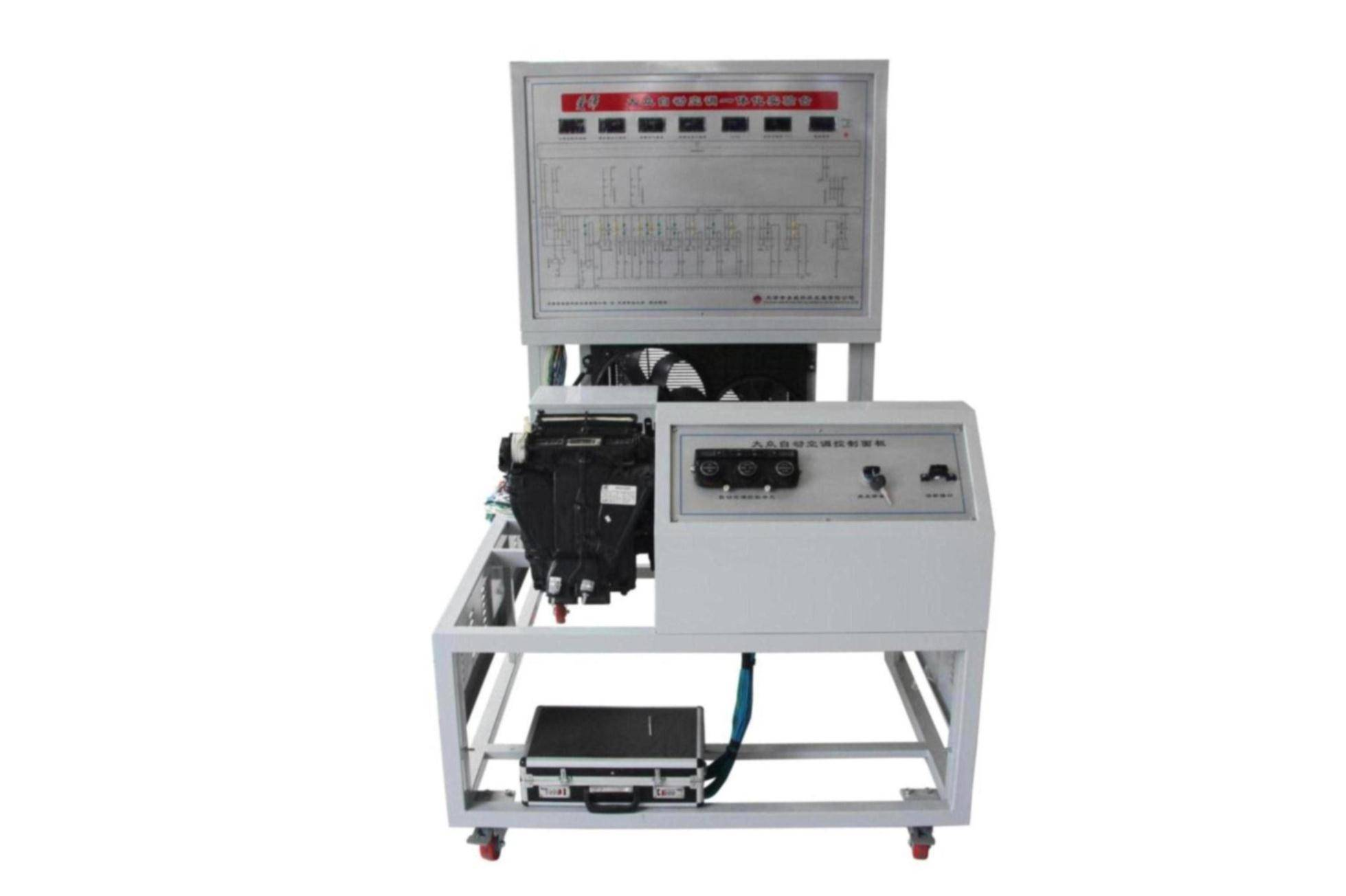 Mass integratio of automatic air conditioning electrical test bench