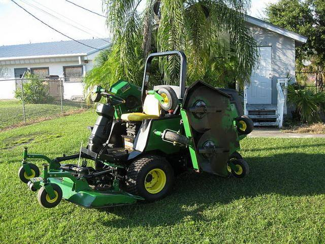 John Deere Mower 1600 Series 2 Turbo Wam Rotary