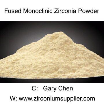 Fused Monoclinic Zirconia Powder for Refractory