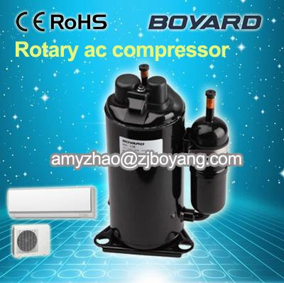 home air conditioner parts with hermetic 9000 12000 18000 24000btu rotary compressor