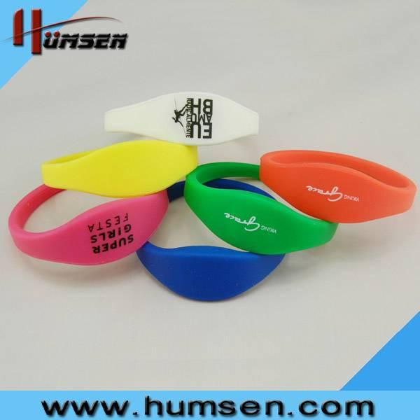 Silicone RFID Bracelet