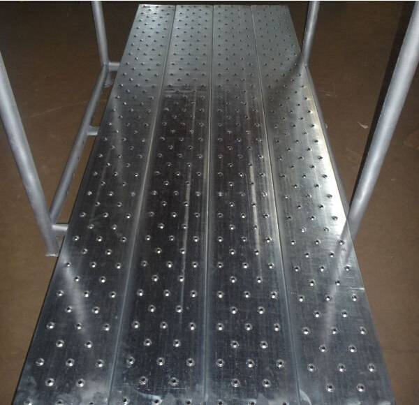 OEM aluminum plank scaffolding system and aluminum plank scaffold accessories