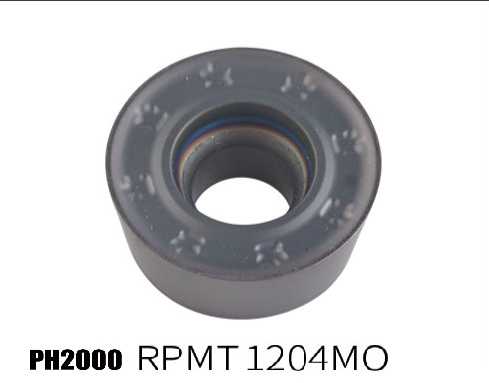 PH2000-RPMT1204MO milling insert for hard steel processing