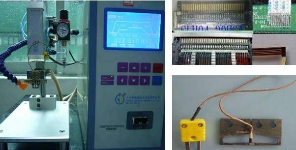 FPC or FFC thermocompression bonding machine(hot bar) JYR-02L