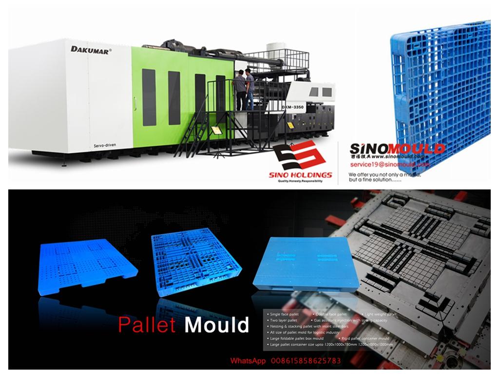 Plastic pallet production machine-DKM3350ton