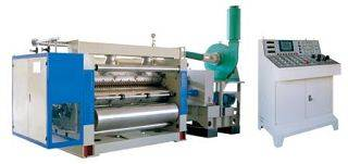 Single facer (Corrugated Paper Board Cardboard Carton Production Line)