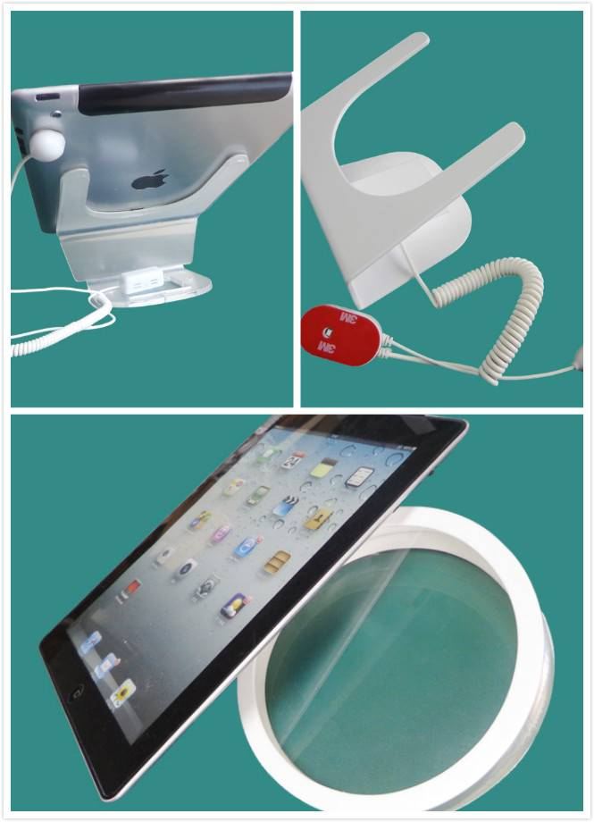 Magnetic tablet PC security display holder