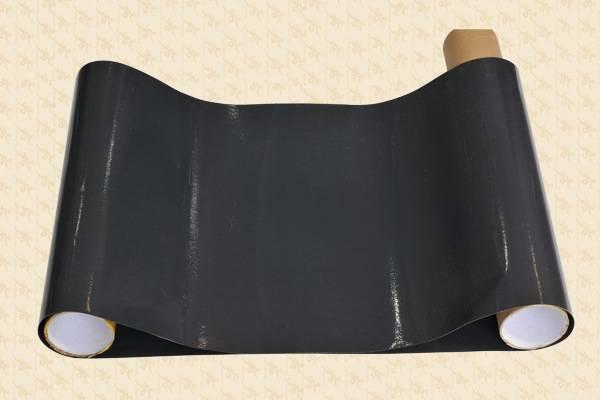 Double-layer compound PTFE fusing machine belt