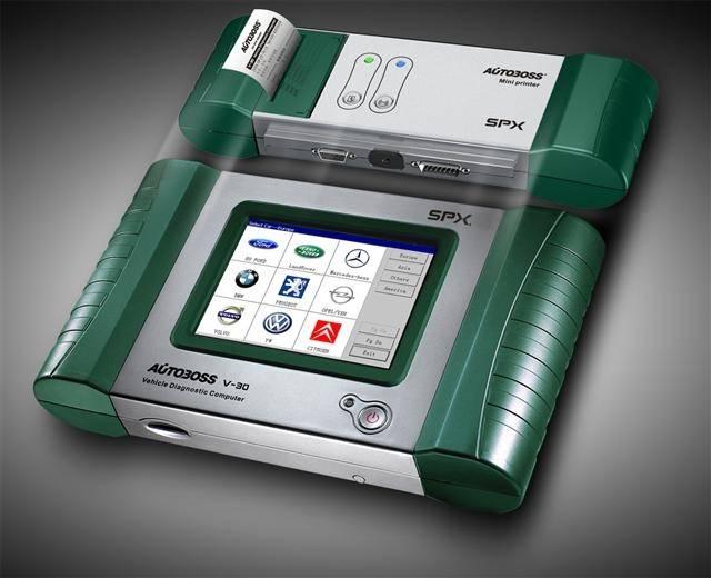 Autobosss V30  Scanner( update by internet)