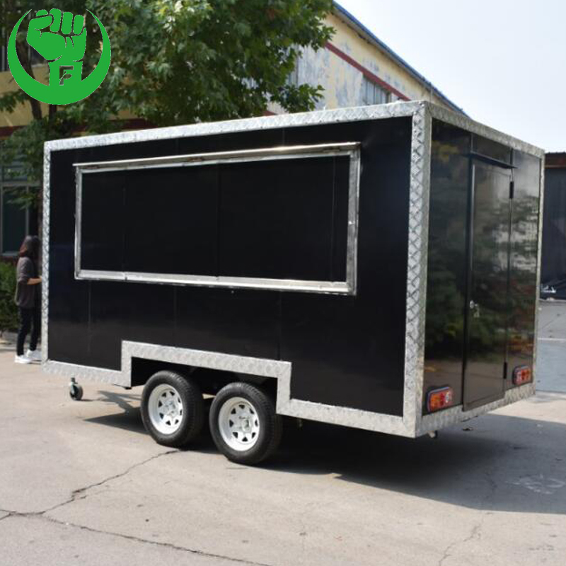 Food Cart Vendor Coffee Concession Trailer for Sale