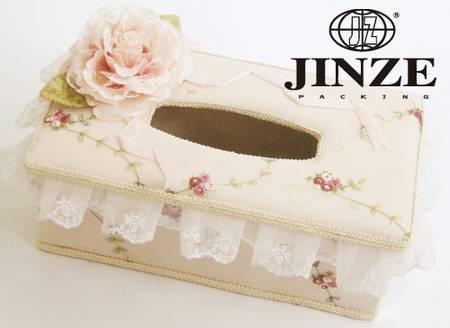 fabric tissue box