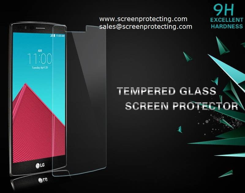 Screen Protection Screen Guard 2.5D Screen Shield 9H Tempered Glass Screen Protector for LG V10