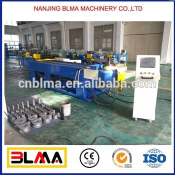 Nanjing BLMA rolling stainless steel pipe bending machine, widely used hydraulic pipe bender
