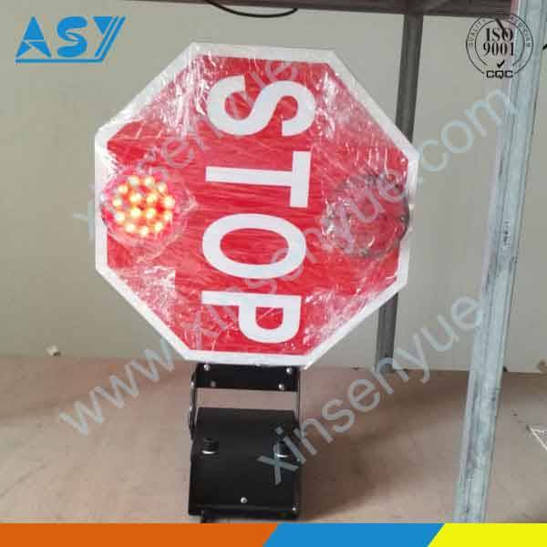 School bus traffic stop ahead lights signal