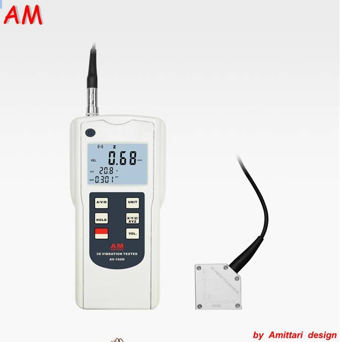 amittari 3D Vibration Tester AV-160D