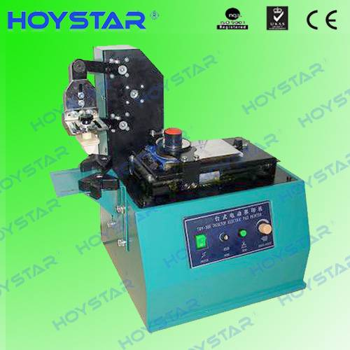 Electrical closed ink cup pad printing machine