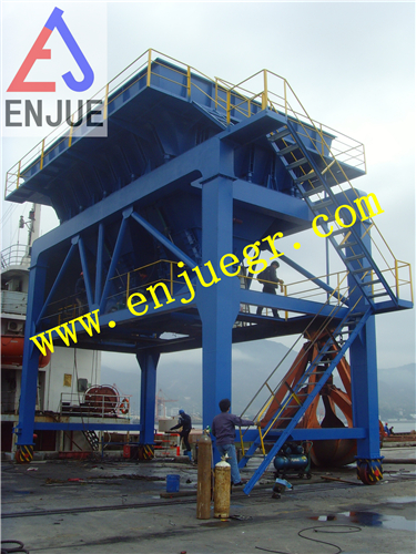 Dust Proof Hopper for Loading and Unloading Bulk Cargo