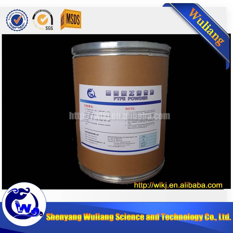 Virgin white powders ptfe with 1.6 micron