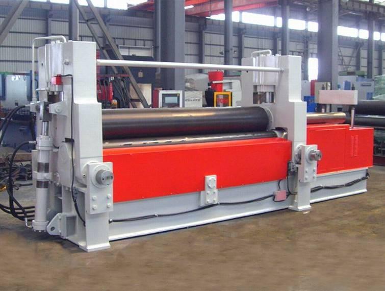 W11S-35*3000 up roller universal bending machine