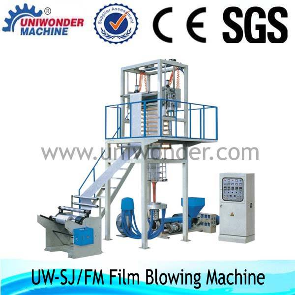 SJ/FM series High Speed Film Blowing Machine